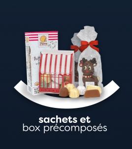 Sachets & box précomposés